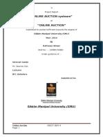 Online Auction System