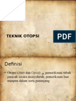 Teknik Otopsi