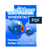 6 Twitter Wonder Tactics