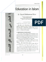Education in Islam