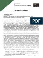Nitrous Oxide in Dental Surgery