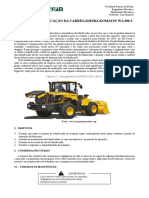 Plano de Lubrificação Da Carregadeira WA 180-3-2