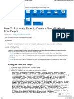 How to Automate Excel to Create a New Workbook From Delp