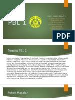 PPt PBL 1-HG 1