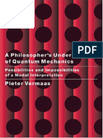 A Philosopher's Understanding of Quantum Mechanics [Vermaas]