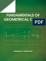 Virendra N. Mahajan Fundamentals of Geometrical Optics