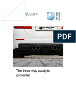 The Three Way Catalytic Converter (1)