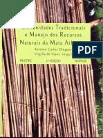 Comunidade s Tradicionai s e Manejo Dos Recursos Naturais Na Mata Atläntica