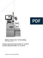 BEETLE POS Tower 100 ScanBag UserlManual English