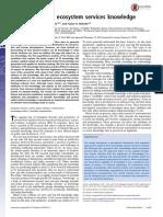 Posner Ecosystem Services PNAS 2016