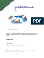 La Organizaciòn Formal e Informal