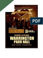 FM Dare Stone Broken Warrington Parr Hall September 2016