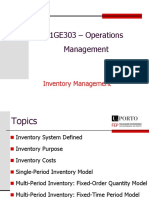 3 - Inventory Management -SP