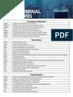 BMC Terminal Functions