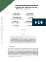 Do Deep Convolutional Nets Really Need to Be Deep (or Even Convolutional)?