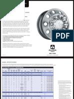 Dura-Bright Brushed Wheels Sell Sheet