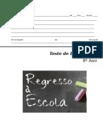 Teste Diagnóstico 8