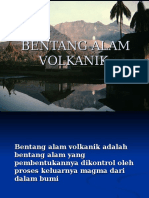 Bentang Alam Volkanik