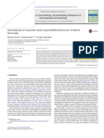 Determinants of CSR