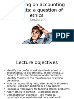 Lecture 4-Ethics in Accounting(1)