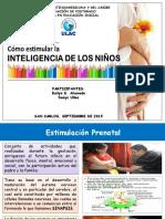Presentación Inteligencia en Los Niños (Daylín-ulac)