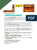 thanksgiving devotion october 2016
