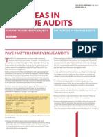 Risk Areas in Revenue Audits
