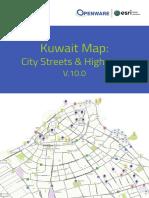 Kuwait Geospatial Database Specification