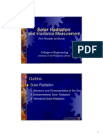 2. Solar Radiation and Irradiance Measurements