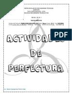 Inglés. 1-Actividades de Perfectura Bimestre III