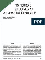 Movimento Negro e Educação do Negro
