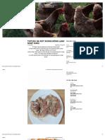 Thịt Đùi Gà Rút Xương Đông Lạnh Nhập Khẩu