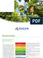 Especies Amenazadas y Endemicas