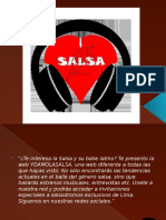 Texto Promocional – Yo Amo La Salsa