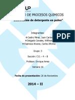 Proyecto de Procesos Quimicos Final