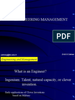 1 Engineering Management Introduction