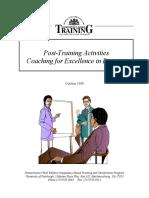 Post Training Activities