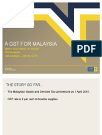 Malaysias Gst