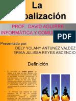 Presentacion de laGlobalizacion