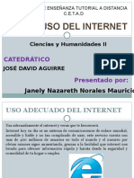 Expocicion del Buen uso del Internet.ppt