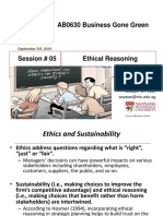 Week 5b Ethical Reasoning