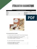 Évaluation_Diagnostique2-8º Francês