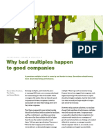 Why Bad Multiples Happen to Good Companies