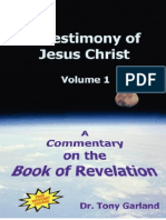 Anthony C. Garland a Testimony of Jesus Christ a Commentary on the Book of Revelation, Vol. 1