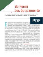 Gases de Fermi Atrapados Opticamente