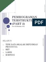 Pemrograman Terstruktur (Part 2)