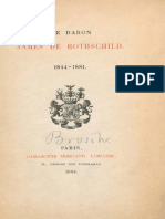 Picot Emile - Le Baron James de Rothschild