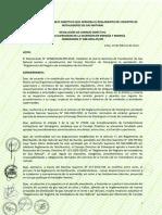 RCD 030 2016 OS CD. Reglamento Registro Instaladores GN