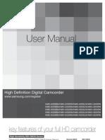 Samsung Camcorder HMX-H200 User Manual