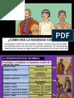 Clase 2 Trim 2 3er Año La Sociedad en America Colonial Del Siglo XVII